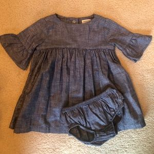 Gymboree Blue Shimmer Fall Dress